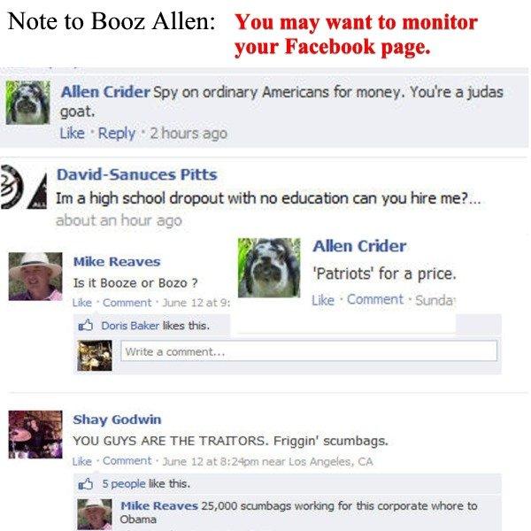 Booz Allen Social Media