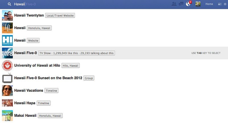 How Facebook Graph Search Affects Google