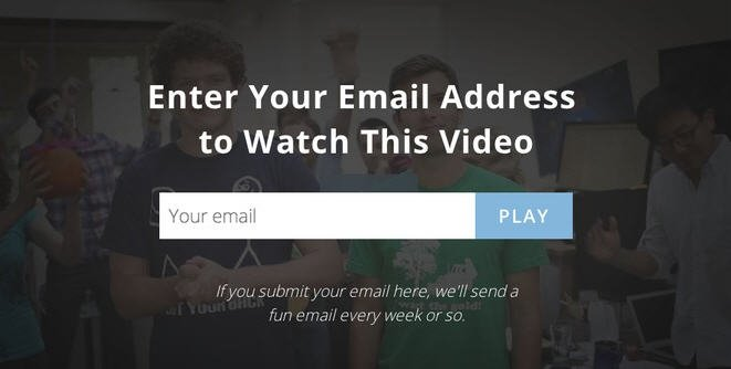enter email to watch video
