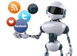 small biz social media automation