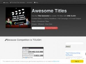 Review - Best Online Title Generator