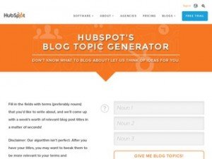 hubspot topic generator review