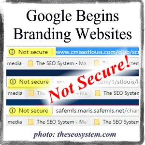 Google Non Secure Warnings